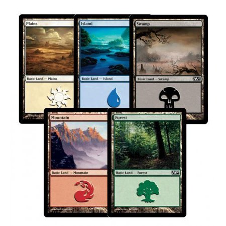 300 Assorted MTG Basic Lands Cards Magic: The Gathering