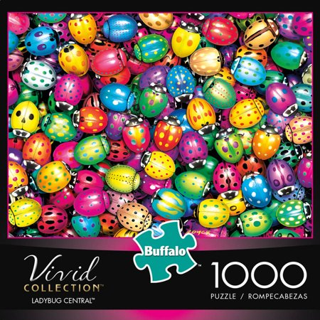 Buffalo Games 1 000 Piece Puzzle Vivid Bug Central