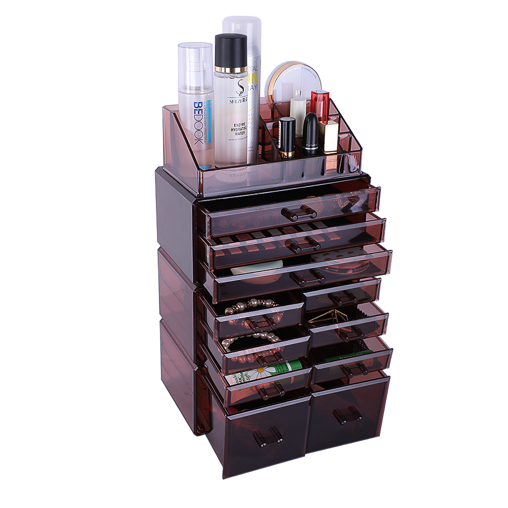 SEGMART Makeup Drawer Organizer with 11 Drawers and 16 ...