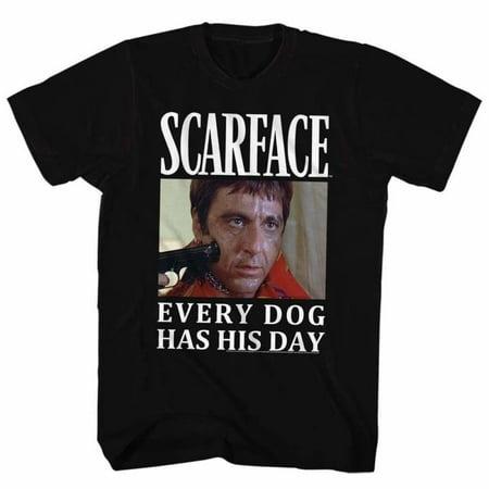 Scarface Movies Doge Adult Short Sleeve T - Halloween Doge Meme
