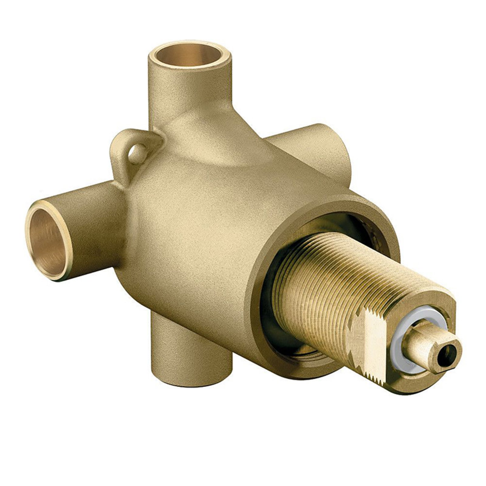 Moen 3360 1/2 Inch Sweat (Copper-to-Copper) 3-Function Diverter Valve
