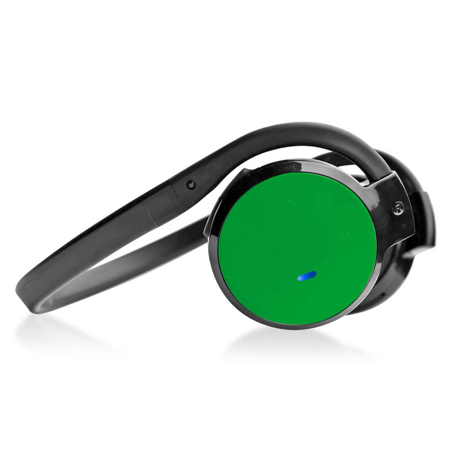 Pyle Stereo BT Streaming Cordless Headphones with Built-in Microphone - Works with All BT-Enabled Phones and Devices (Green)
