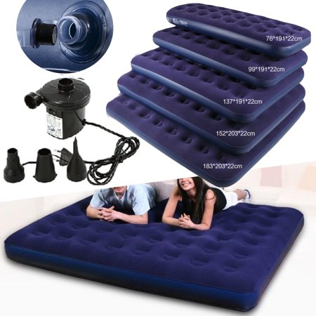 Reflex Travel Couch (Moaere Inflatable Travel Car Air Bed Sleeping Mattress Couch Sofa Camping Seat Pump)