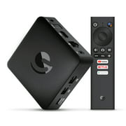 Refurbished Jetstream 4K Ultra HD Android TV Box with Voice Search Remote (AGT418)
