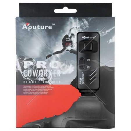 Rs 60e3 Replacement - Aputure Coworker Wireless Remote Shutter Release for Canon Cameras (Such as: EOS Rebel Series) - 1C Connection (Replaces Canon's RS 60-E3)
