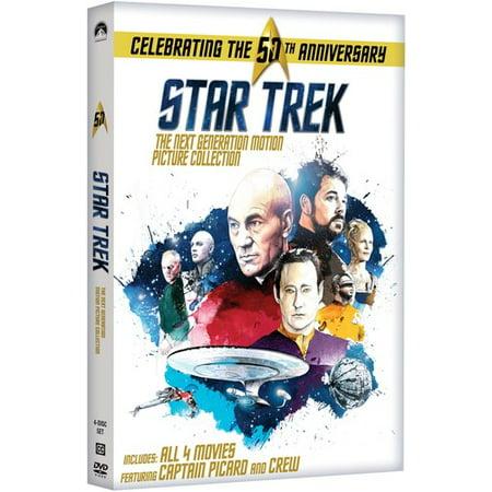 Star Trek - The Next Generation: Motion Picture Collection (DVD) - Star Trek Next Generation Uniform Colors