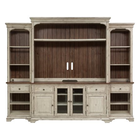 Liberty Furniture Industries Morgan Creek Entertainment Center with Piers ()