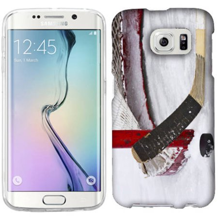 low cost 3fa7b 25f04 Mundaze Ice Hockey Phone Case Cover for Samsung Galaxy S6 edge+