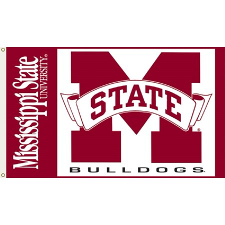 Mississippi State University Alumni - Mississippi State University Logo Flag