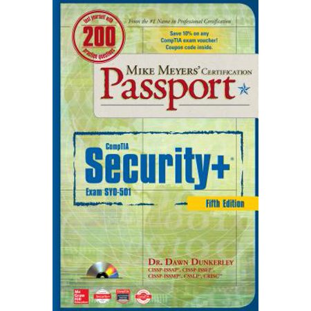 Mike Meyers' Comptia Security+ Certification Passport, Fifth Edition (Exam Sy0-501)](Sulley X Mike)