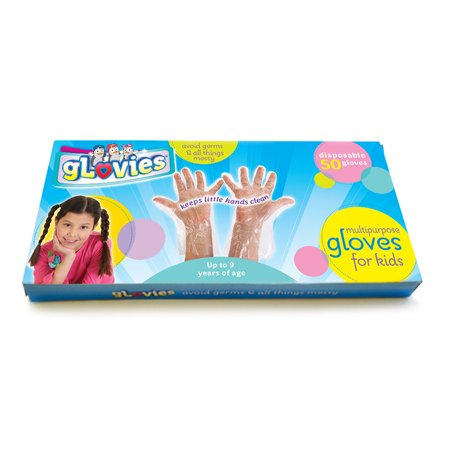 GLOVIES MULTIPURPOSE GLOVES 50 CT DISPOSABLE (Best Heated Gloves For Raynaud's Syndrome)