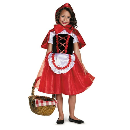 Girls Storybook Lil Red Riding Hood Costume](Fantasias Bruxas Halloween)