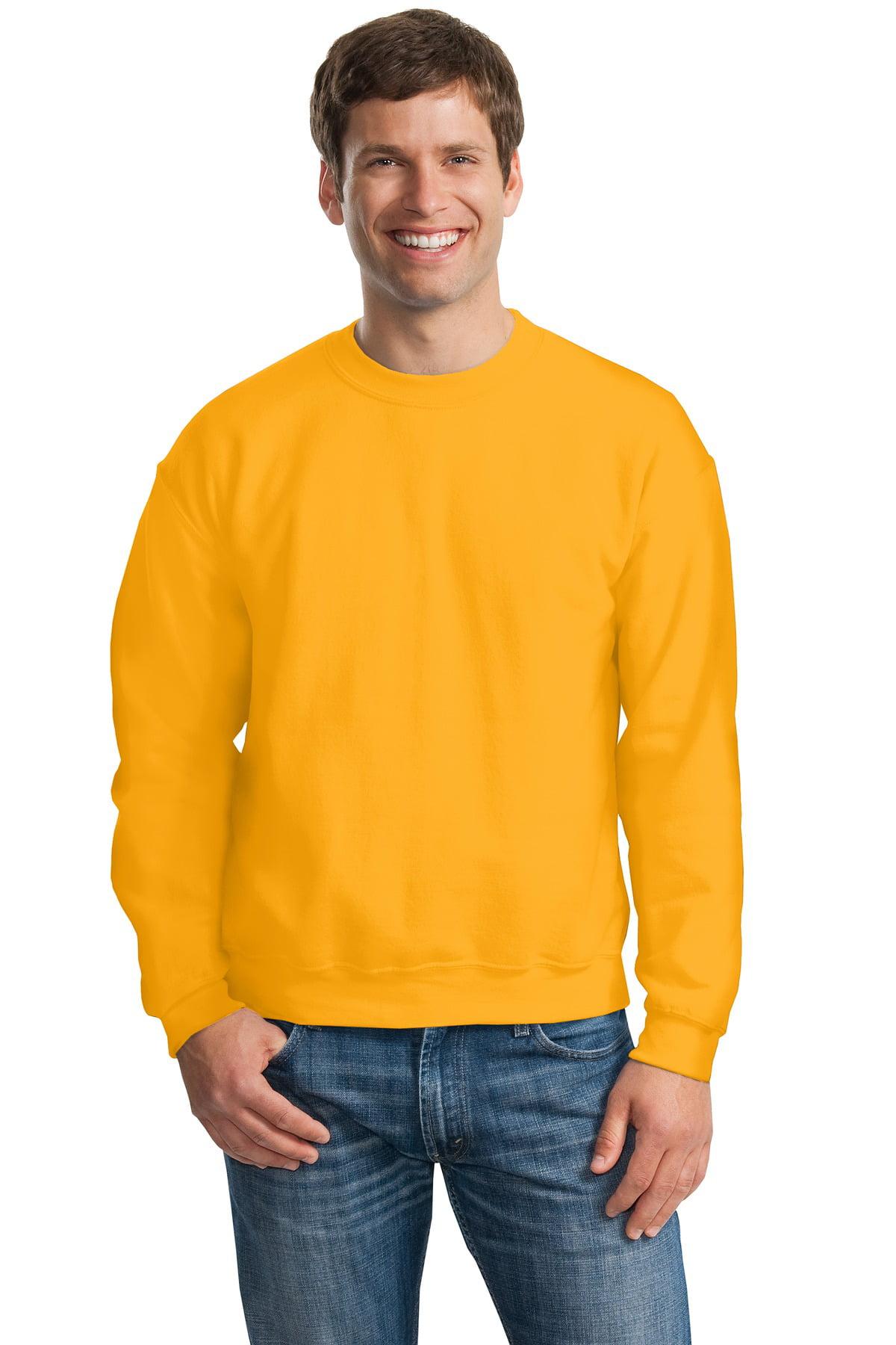 Gildan Men's Heavy Blend Crew Neck Fleece Sweatshirt