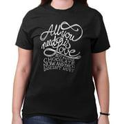 All You Need Love Chocolate Doesnt Hurt Shirt | Beatles Music T-Shirt Tee