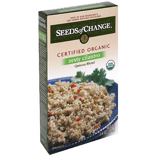 Seeds Of Change Organic Whole Grain Quinoa Blend With Cilantro, 5.6 oz (Pack of 12)