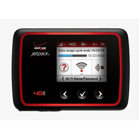 Verizon Wireless Novatel MiFi 6620L Jetpack 4G LTE Mobile Hotspot Certified Pre-Owned (Verizon Music)