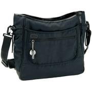 Peg Perego Borsa Diaper Bag - Licorice - Black Leather