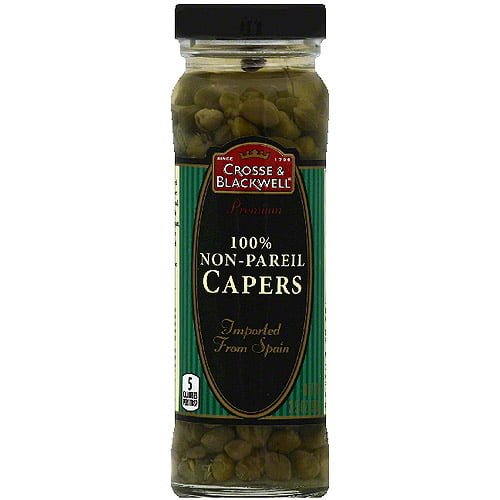 Crosse & Blackwell 100% Non-Pareil Capers, 3.5 oz (Pack of 12) by Generic