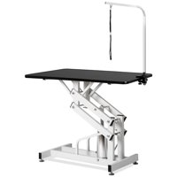 NICEPET Dog Grooming Table, 42.5'' Professional Pet Grooming Table with Adjustable Grooming Arm & Noose, Foldable Z-Lift Tables Stand Pet Supplies Best for Small Medium Large Dog & Cat, S12000