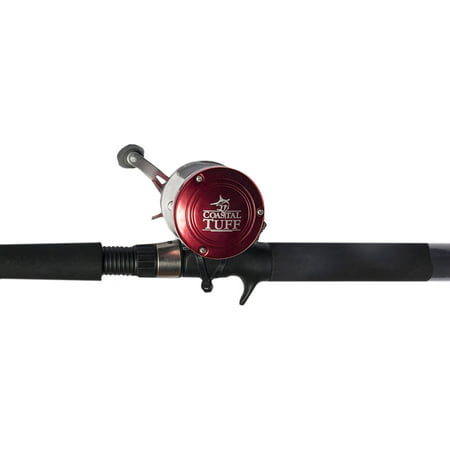 Coastal Tuff 7' Rod and Baitcast Combo