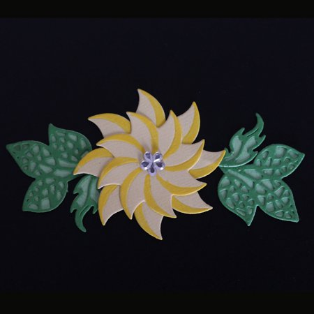 Flower & Leaves Combination Carbon Steel Cutting Dies Set Knife Mold Stencils DIY Scrapbooking Die Cuts Decor Crafts Embossing Templates Art Cutter - image 2 de 6