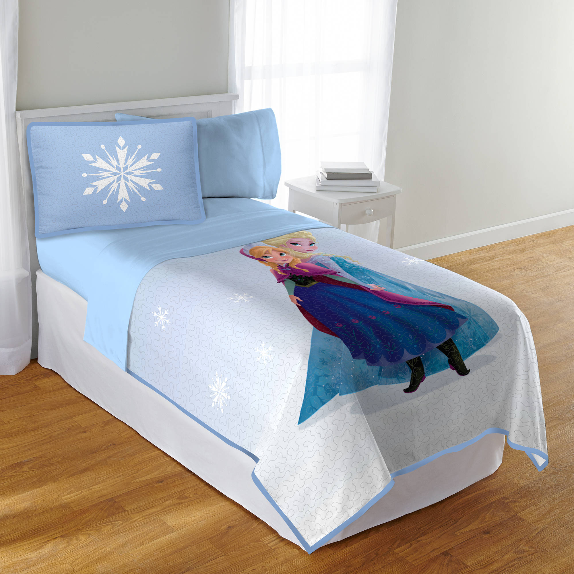 Disney's Frozen Frozen No More Twin/Full Quilt with Sham