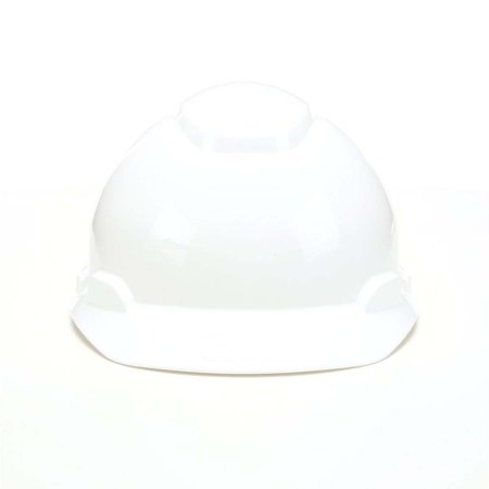 3M Hard Hat H-701R, White 4-Point Ratchet Suspension,
