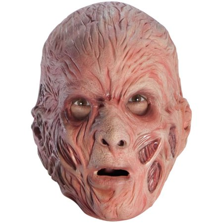 Freddy Krueger Foam Latex Adult Mask - Foam Latex Mask
