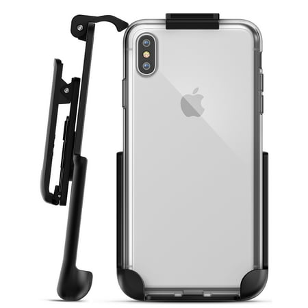 iPhone XS Max Belt Clip Clear Case with Holster Clip, Slim Transparent Cover Clear Cover Case Clip