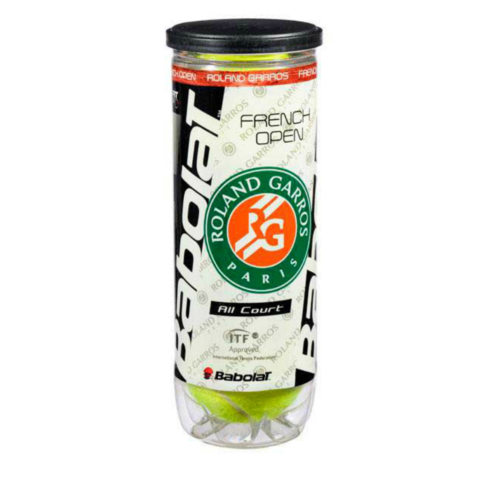 Babolat Roland Garrots Paris Tennis Balls All court French Open Pack of 3 by Babolat