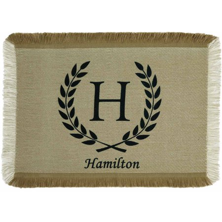 Personalized Rustic Country Placemat, Available in 4 Colors ()