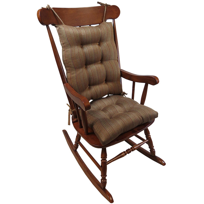 Gripper Jumbo Rocking Chair Cushions, Scion