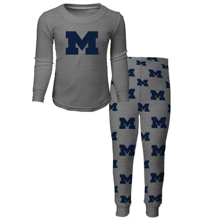 Outerstuff - Toddler University of Michigan Wolverines Pajama Set Boys  Sleepwear Set - Walmart.com 99704ddd9