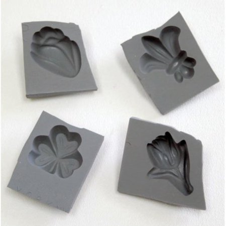 Signs of Spring Rubber Molds, 4/pk, Mold cream cheese mints, fondant, caramels, chocolate and more with this Signs of Spring Mold Set. By Kitchen Krafts Rubber Mint Mold