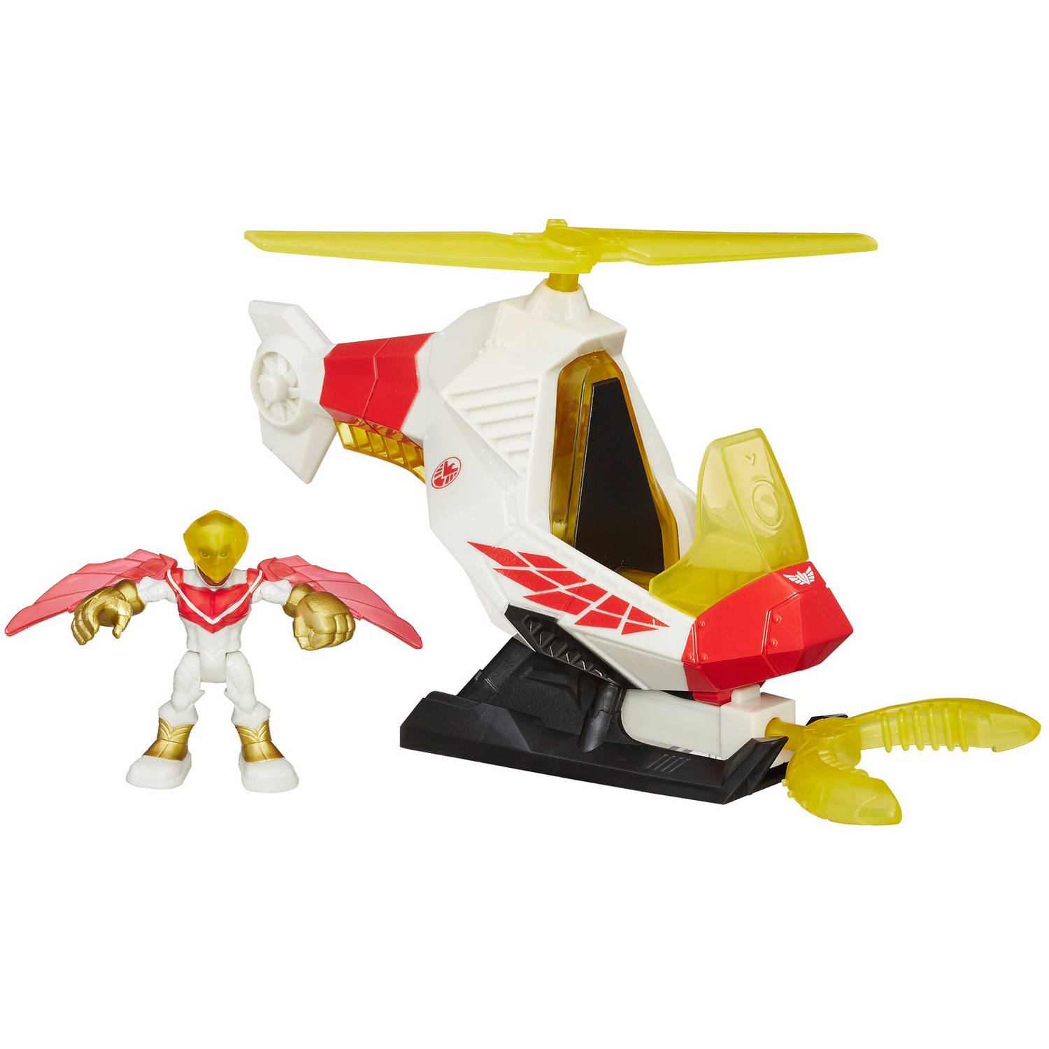 Playskool Heroes Marvel Super Hero Adventures Talon Copter With Marvel's Falcon by Hasbro