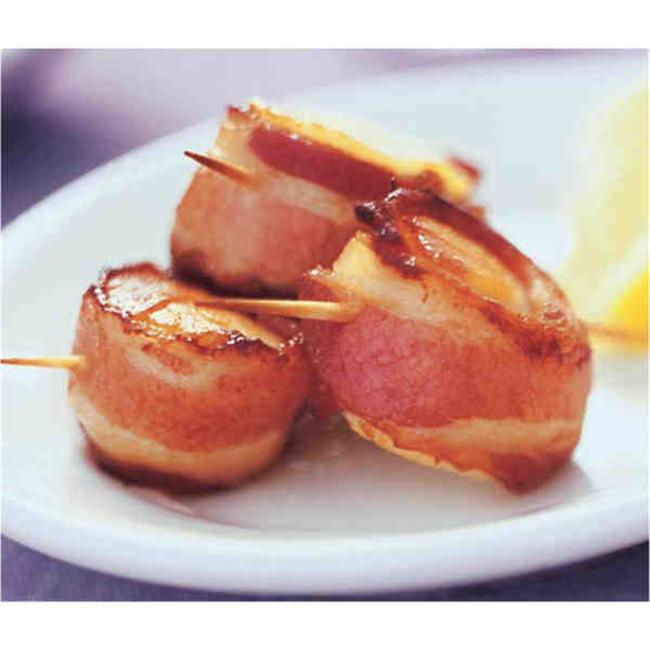 Lobster Gram BWSCAL24 Sea Scallops Wrapped in Bacon
