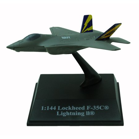 Die-Cast Miniature Lockheed F-35C Lightning II Fighter Jet