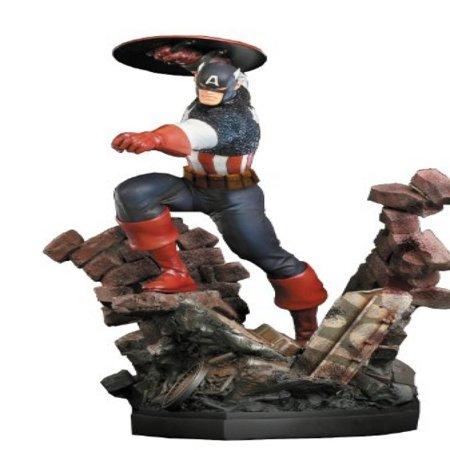 Bowen Designs Captain America Painted Statue (Action Version)