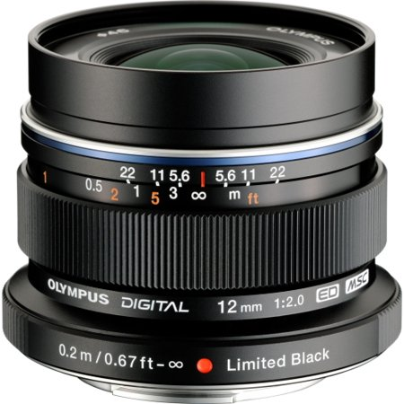 Olympus V311020bu001 Olympus M Zuiko 12 Mm F 2 Wide Angle Lens For Micro Four Thirds   Designed For Camera   46 Mm Attachment   0 16X Magnificationoptical Is   Msc