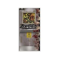 Zombies Lab Door Cover Halloween Decoration