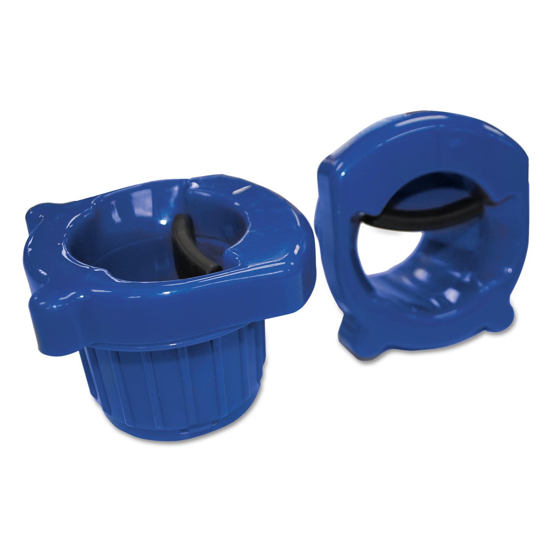 "General Supply Hand Core Dispenser for Stretch Film Rolls 12"" to 18"" Wide, Blue -UFSCOREDISP1"