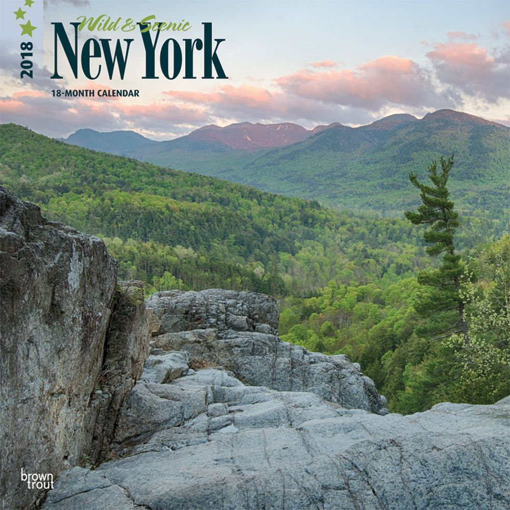 2018 New York Wild and Scenic Wall Calendar, New York City by BrownTrout by BrownTrout Publishers
