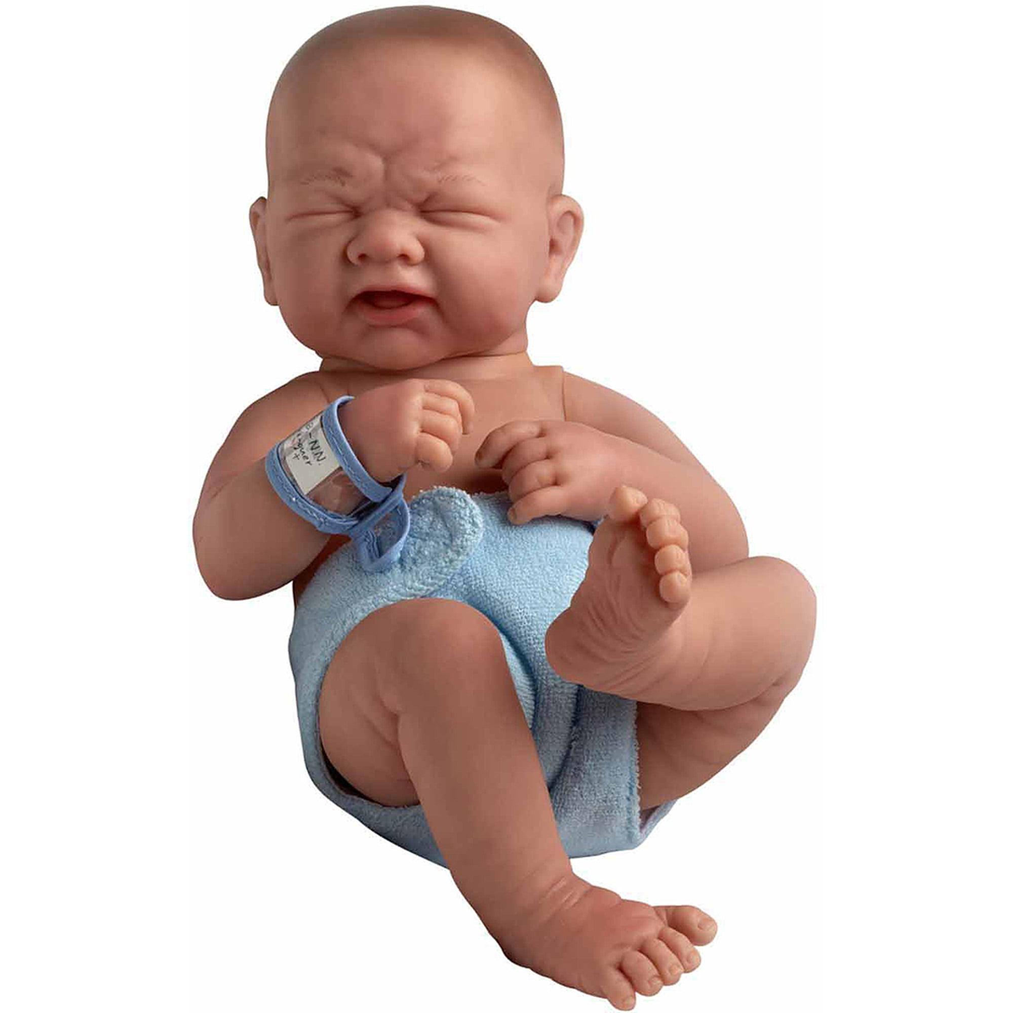 "La Newborn 15"" All-Vinyl Life-Like ""First Tear"" Baby Doll, Anatomically Correct"