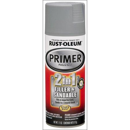Gray, Rust-Oleum Automotive Sandable Primer Spray , 12 Oz