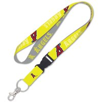 Los Angeles Angels WinCraft Neon Buckle Lanyard - No Size