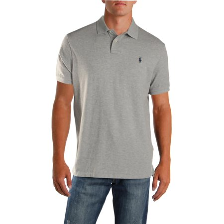 Mens Slim Fit Ralph Mesh Bigamp; Lauren Tall Polo Shirt VpUzSMjLqG