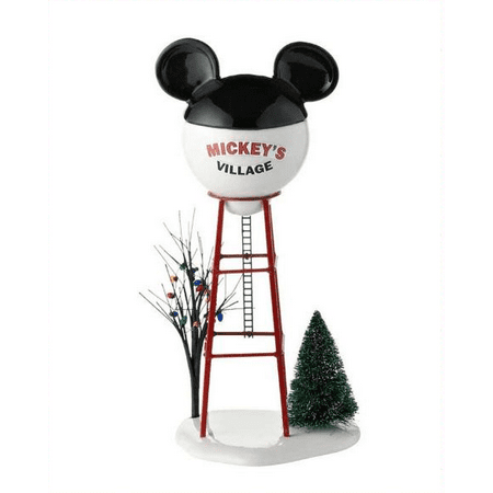 Department 56 Disney Village Mickey Water Tower