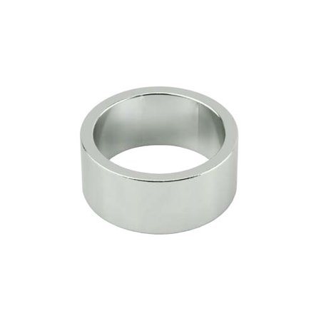Headset Spacer, 1-1/8in x 15mm, Silver