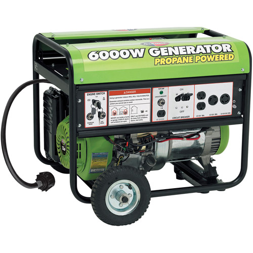 Allpower 6000W Propane Generator with Electric Start, APG3560CN