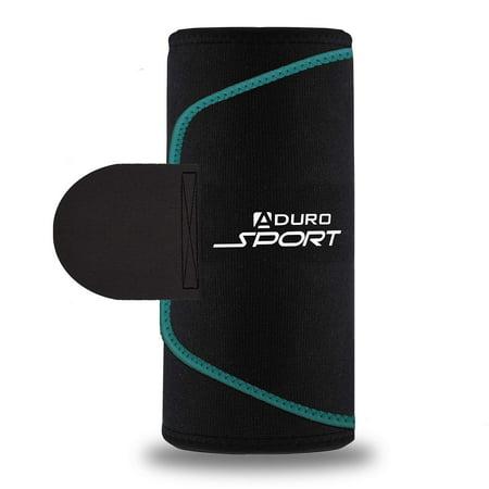 Aduro Sport Sweat Waist Trimmer Belt, Premium Wasit Trainer Stomach Wraps